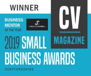 CV magazine business mentor of the year award